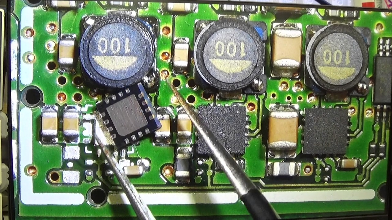 129 repair part 2 icom ic 7100 killed by overvoltage fixing the main board [ 1280 x 720 Pixel ]