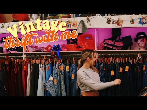 THRIFT WITH ME: Vintage Clothing Store