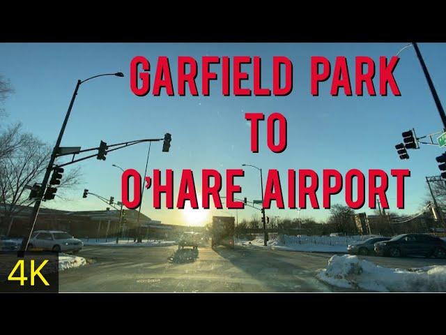 Chicago | Garfield Park To O'Hare International Airport | February 9, 2021