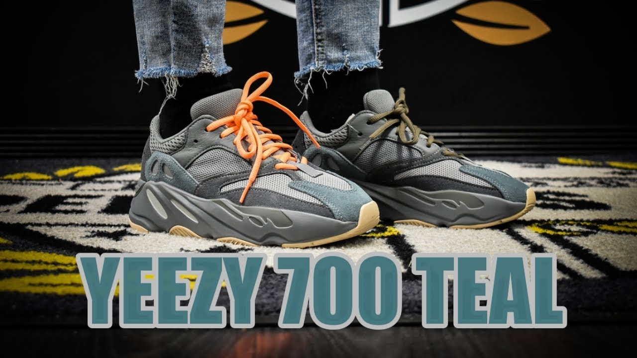 YEEZY BOOST 700 TEAL BLUE + ON FOOT