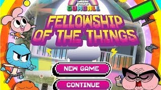 The Amazing World Of Gumball - Fellowship of The Things [Full Game]