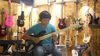 Gitar Jaguar Bass Fender Modified natural vintage Custom