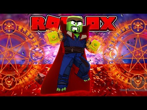 BECOMING DR STRANGE IN ROBLOX!