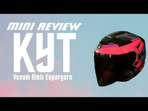 #1 Mini Review pasal helmet KYT Venom Aleix Espargaro