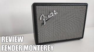 Review Fender Monterey Nuevo Altavoz Bluetooth 2018