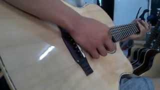 Đàn Guitar Gỗ Hồng Đào Trung Kỹ_Guitar Sinh Viên Sài Gòn