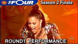 "Whitney Reign ""Lady Marmalade"" Round 1 Performance The Four Season 2 FINALE S2E8"