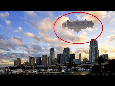 SOMETHING BIG Flying Over Haiti UFO Alien 8th November 2017