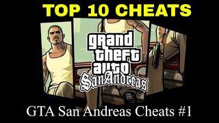 GTA San Andreas Cheats | Top 10 | #1