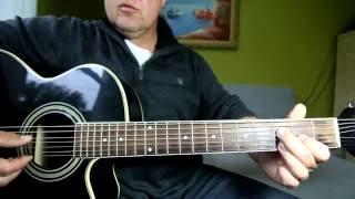 Учимся играть на семиструнной гитаре, песню из к/ф ВЕСНА НА ЗАРЕЧЕНСКОЙ УЛИЦЫ. Урок 4