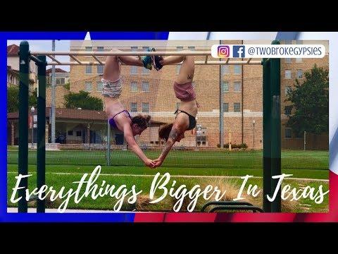 EVERYTHING IS BIGGER IN TEXAS | TWO BROKE GYPSIES Ep. 1
