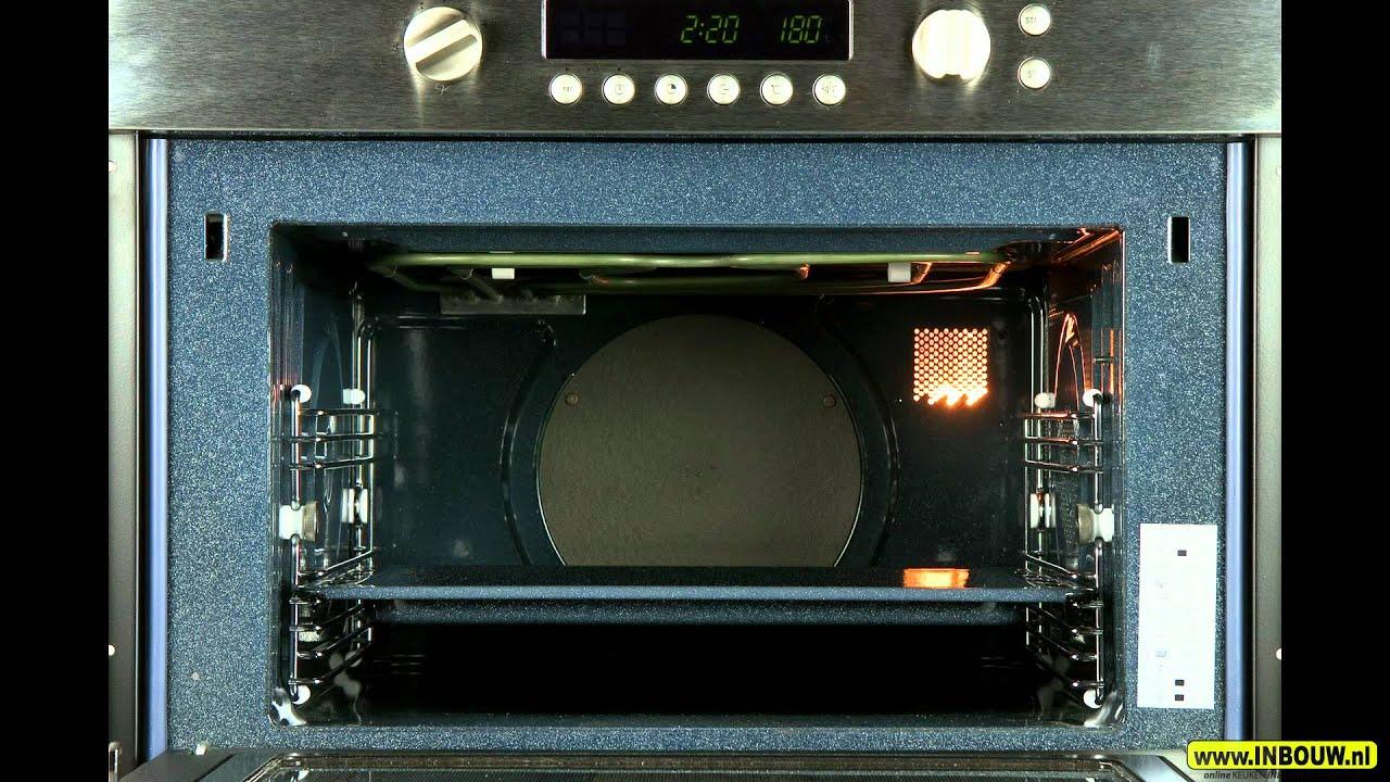 Wonderbaar Pelgrim MAG694RVS Inbouw Combimagnetron met Aqua Clean - YouTube PM-87