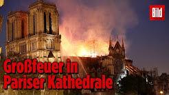Die Nacht des Notre-Dame-Brands: Live-Bilder aus Paris