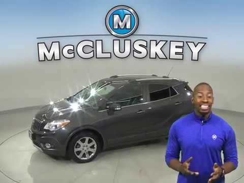 A16816GP Used 2016 Buick Encore Gray SUV Test Drive, Review, For Sale -