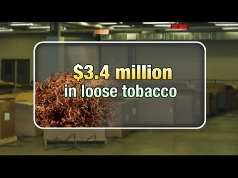 $3.4M of raw tobacco seized at border