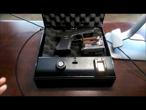 artemis quick access biometric gun safe