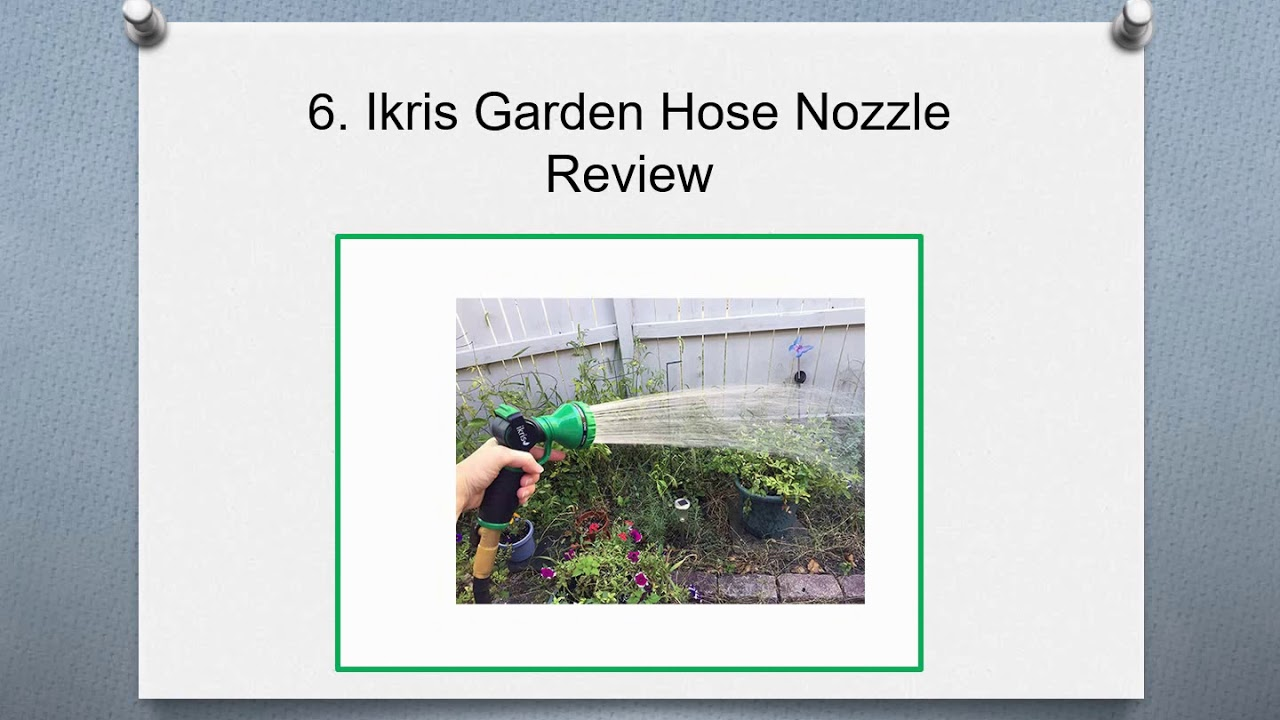 Best Garden Hose 2020.Top 10 Best High Pressure Garden Hose Nozzles In 2020