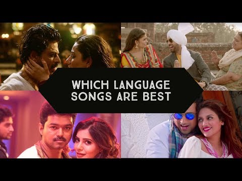 Which Language Songs Do you like