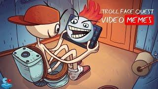 Troll face quest video memes - прохождение с подсказками 1 - 19 LVL | Part 1 | Walkthrough