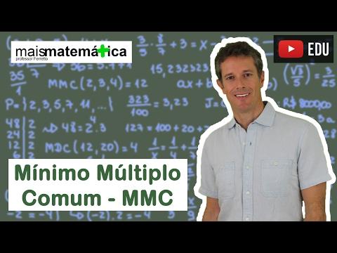 Matemática Básica - Aula 11 - Mínimo múltiplo comum - MMC