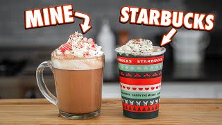 Making Starbucks Holiday Drinks At Home   But Better