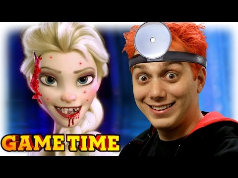 FROZEN GAMES ARE CREEPY (Gametime w/ Smosh Games)