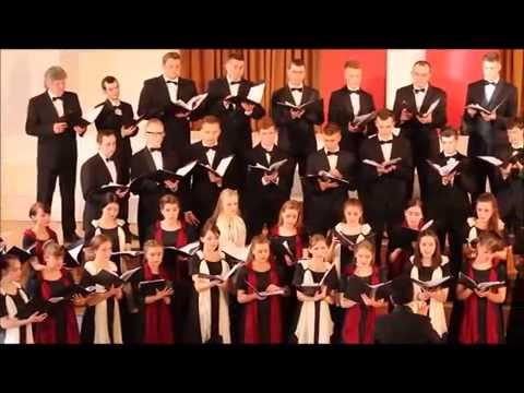 choir Daugava, cond. J. Ustinskovs, Gula meitina (folk song, Balsis arr.)