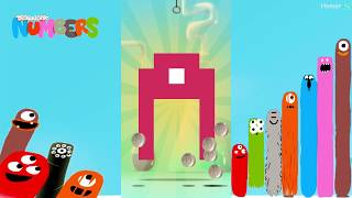 The best Puzzles of Microbes - Dragonbox: Numbers (iPad, iPhone, Android). Fun game for kids.