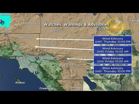 CBSLA Evening Weather Brief (Feb. 22)
