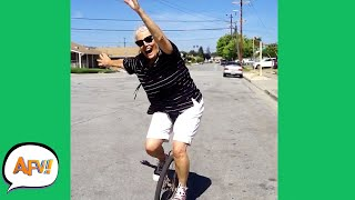 ONE Wheel, NO BRAKES! 😂 | Best Funny Fails | AFV 2021
