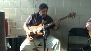 Bass Guitar Quickie On Bill Fitzmaurice Designs Bass Cab, Ivan Ho`opi`i At Nico's Pier 38