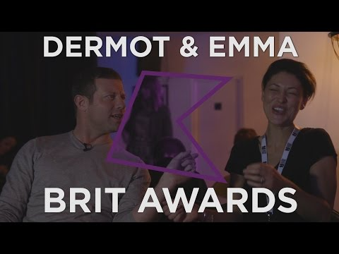Emma Willis and Dermot O'Leary Interview | BRIT Awards 2017
