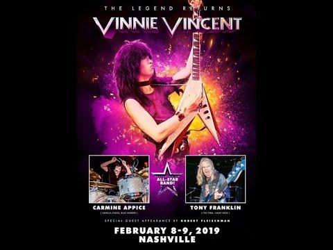 KISS guitarist Vinnie Vincent's shows in Memphis rescheduled ...