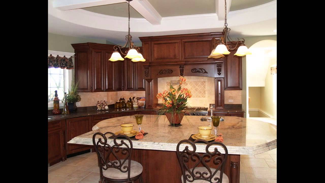 Kitchen countertop decorating ideas youtube for Countertop decor ideas