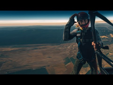 Solar Eclipse 2017: RAW FOOTAGE | Skydiving from Helicopter [4K + GoPro]