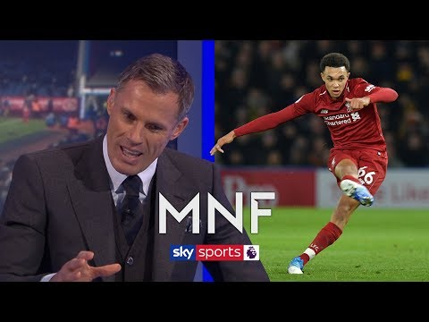 Carragher analyses Alexander-Arnold's 'Beckham-esque' free-kick technique | MNF