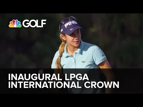 Dont miss the Inaugural  LPGA International Crown