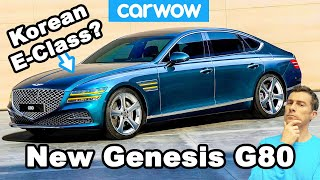 The Mercedes E-Class from Korea: Hyundai's bold new Genesis G80 luxury car!