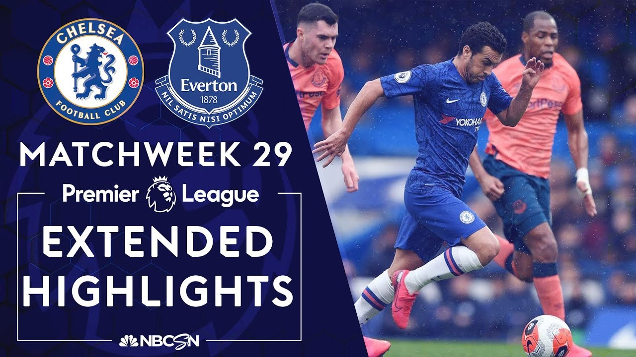 Chelsea v. Everton | PREMIER LEAGUE HIGHLIGHTS | 3/8/2020 | NBC Sports