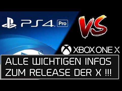 Microsoft XboxOne X vs Sony Playstation4 Pro | Welche Konsole ist die Beste ? | DasMonty Deutsch