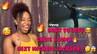 Chris Brown - Back To Love ❤️(Official Music Video)|Reaction/Review |