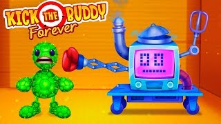 ANTI-STRESS AGAINST NANOWEAPONS! Destroy in any way - Kick the Buddy Forever