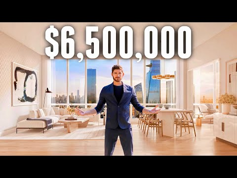 Inside a $6,500,000 NYC PENTHOUSE with Amazing City Views | Apartment Tour