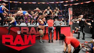 Raw, SmackDown and NXT Superstars clash in all-out brawl: Raw, Nov. 18, 2019