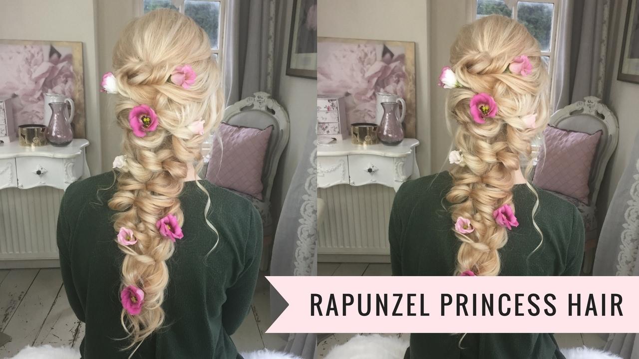 Rapunzel Princess Hair By Sweethearts Hair Youtube