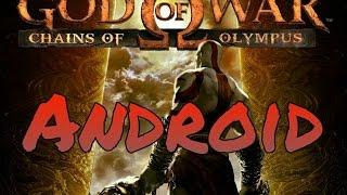 God of war - Андроид  Геймплей трейлер новый игры на андроид