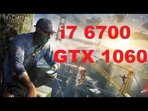 Watch Dogs 2 - i7 6700 + Gigabyte GTX 1060 6GB Benchmark