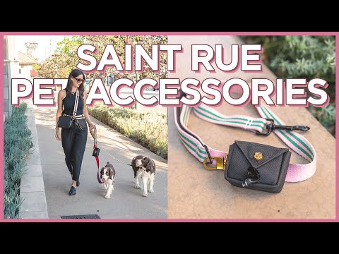 Saint Rue  Sophisticated Travel Pet Accessories For Chic Dog Moms
