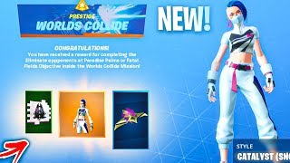 *NEW* Catalyst (Snowstorm) Style & Rift Rider Glider REWARDS! Fortnite Battle Royale