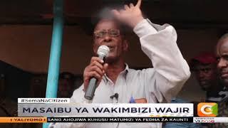 Masaibu ya wakimbizi katika eneo bunge la Wajir